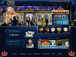 Crown Europe Casino Home