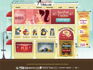 Manhattan Slots Casino Home