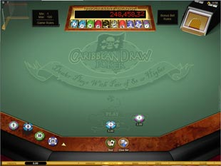 Caribbean Draw Poker Gold