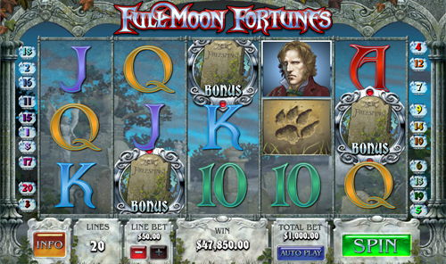free Full Moon Fortunes Free Spins Feature
