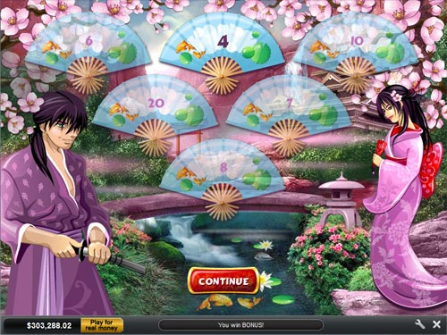 free Geisha Story bonus game feature