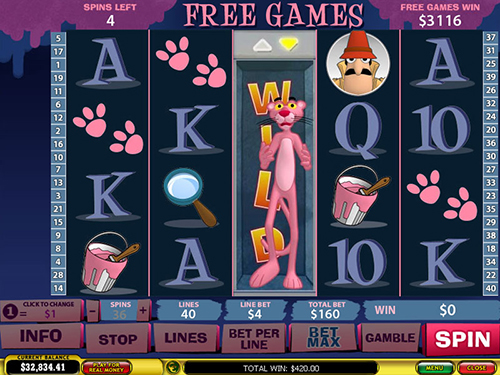 free Pink Panther Crack the Pink Code free games