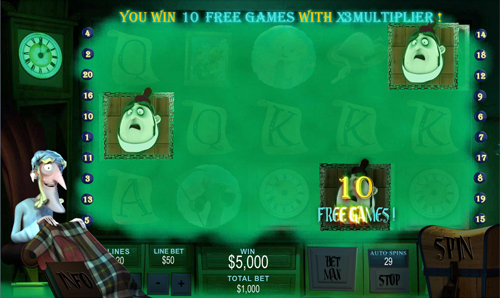 free Ghosts of Christmas free spins feature