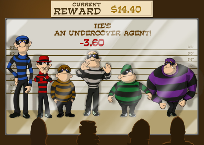 Cops and Bandits slot game online review
