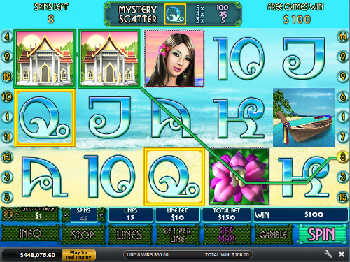 free Thai Paradise free games big prize