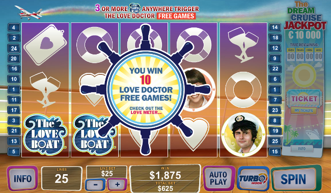 The Love Boat slot game online review
