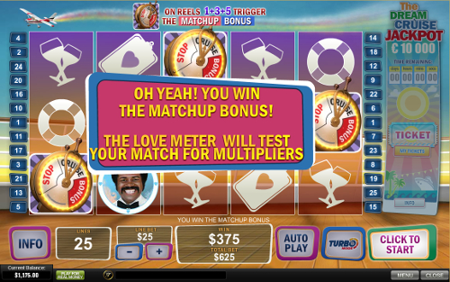 free The Love Boat free spins feature