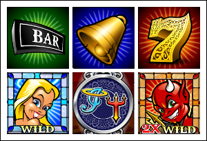 free Innocence or Temptation slot game symbols