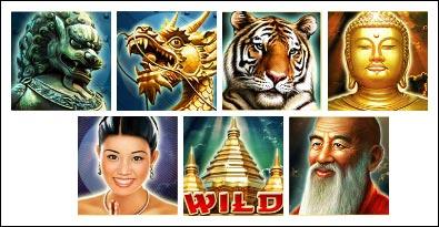 simbol permainan slot Kuil Thailand gratis