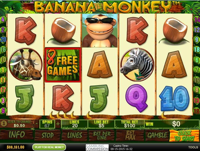 Banana Monkey slot game online review