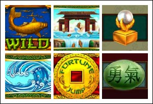free Fortune Jump slot game symbols
