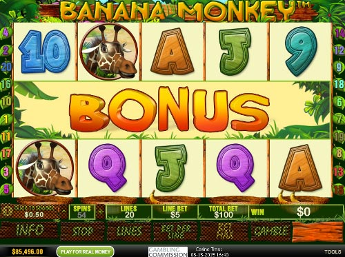 free Banana Monkey bonus game