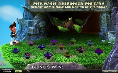 free Fortune Hill bonus game