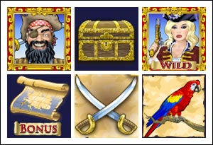 free Chests of Plenty slot game symbols