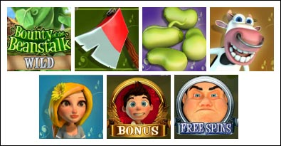 free Bounty of the Beanstalk slot game symbols