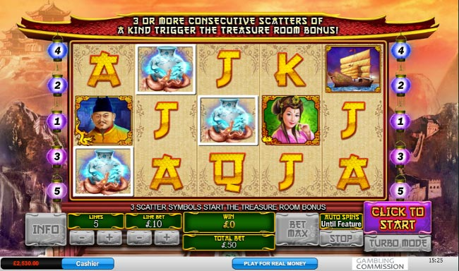 The Great Ming Empire slot game online review