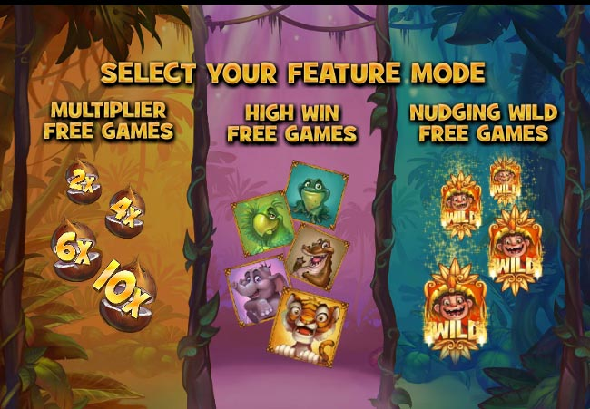Jungle Trouble slot game online review