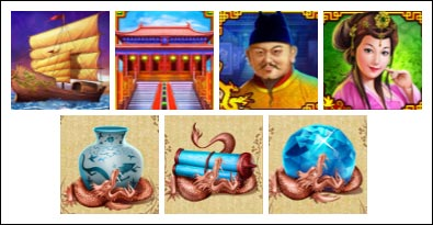 free The Great Ming Empire slot game symbols