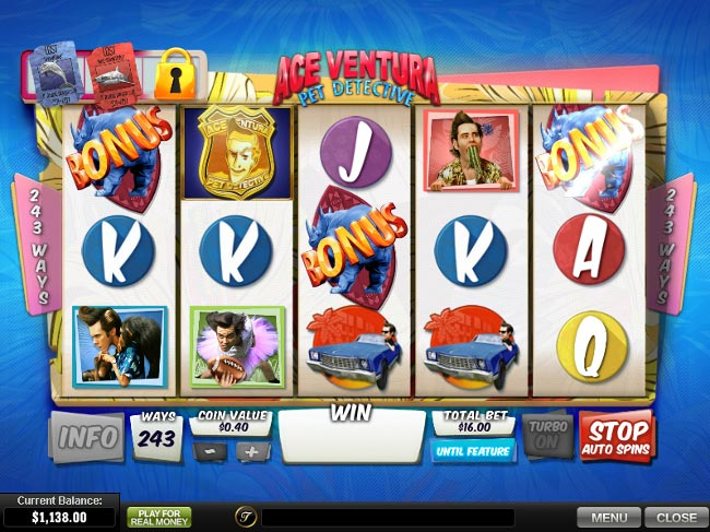 Ace Ventura slot game online review