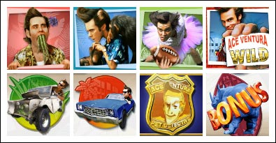 free Ace Ventura slot game symbols