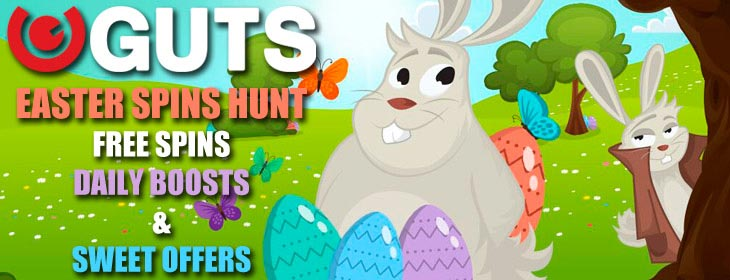 Guts casino easter free spins hunt bonus