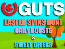 Guts casino easter free spins