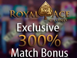 royal ace casino exclusive match offer