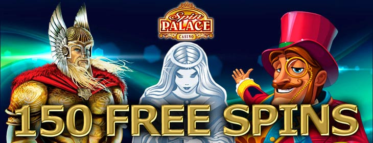 spin palace casino exclusive 150 free spins bonus
