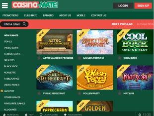 Casino-Mate Lobby