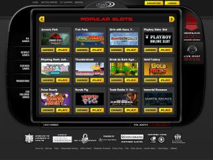 Dash Casino Lobby