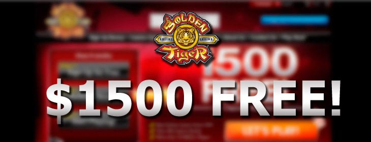 golden tiger casino welcome no deposit bonus