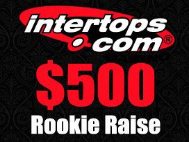 intertops casino free rookie raise bonus