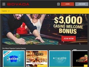 Bovada Casino Home