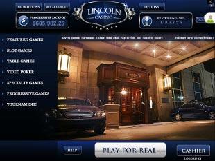 Lincoln Casino Lobby