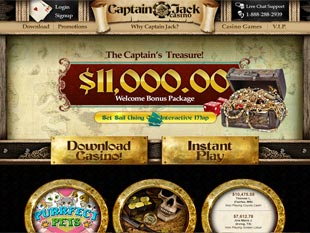 Captain Jack Casino Home