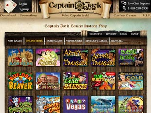 Captain Jack Casino Lobby