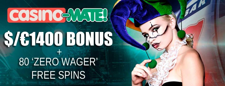 casino-mate welcome bonus free spins bonus
