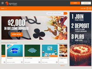 Ignition Casino Home
