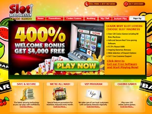 Slot Madness Casino Home