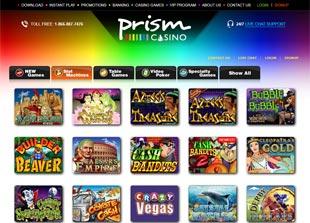 Prism Casino Lobby