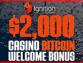 ignition casino $2,000 bitcoin welcome bonus