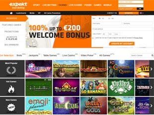 Expekt Casino Home