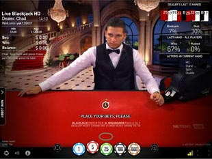 Blackjack Live HD