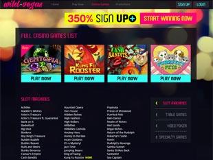 Wild Vegas Casino Lobby