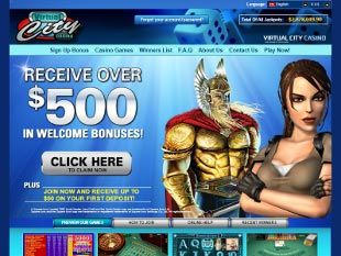 Virtual City Casino Home