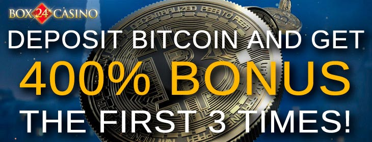 box24 casino bitcoin welcome bonus