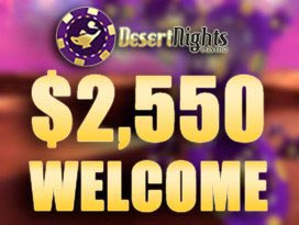 desert nights casino welcome bonus