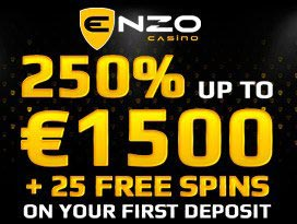 enzocasino sign up and free spins bonus