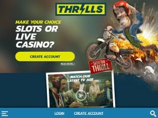 Thrills Casino Home
