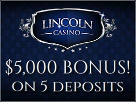 lincoln casino welcome bonus package